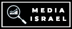 מדיה ישראל - לוגו לבן